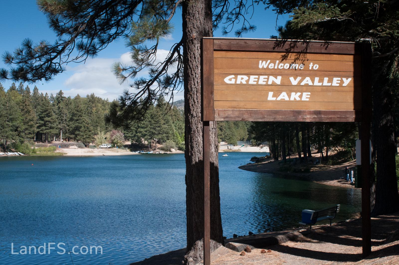 Green valley lake lot california mountain cabin property for Green valley lake fishing